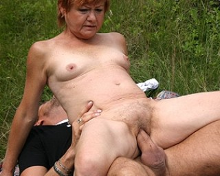 A grannies cum soaked fuck party 8